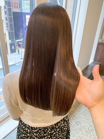 《2回目の方💫限定メニュー》カット+イルミナカラー+髪質改善水素トリートメントULTOWA+炭酸泉✂️
