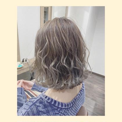 🌈☘5月限定❤️【うる艶カラー+トリートメント】