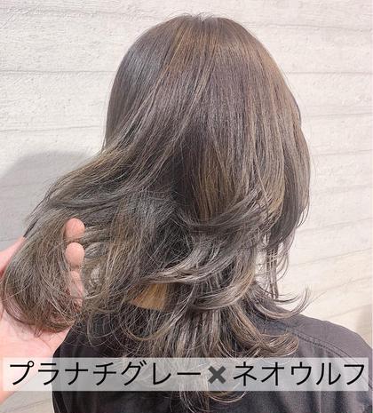 【新規限定メニュー】¥7700〜カット+ケアブリーチ1回+カラー+トリートメント(学生¥7000〜)