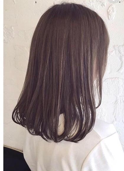 艶髪へ✨‼️カット & ナチュラルストレート