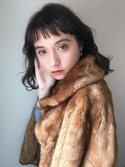 【新規限定】🌈前髪カット+カラー+ダメージ予防トリートメント