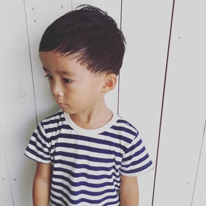 浜松将吾のキッズヘアスタイル・髪型