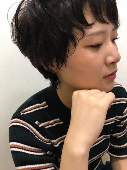 【#アオハル】カット&パーマ