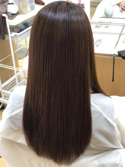🌈縮毛矯正ナチュラル🌈前髪カット🌈保湿トリートメント🌈