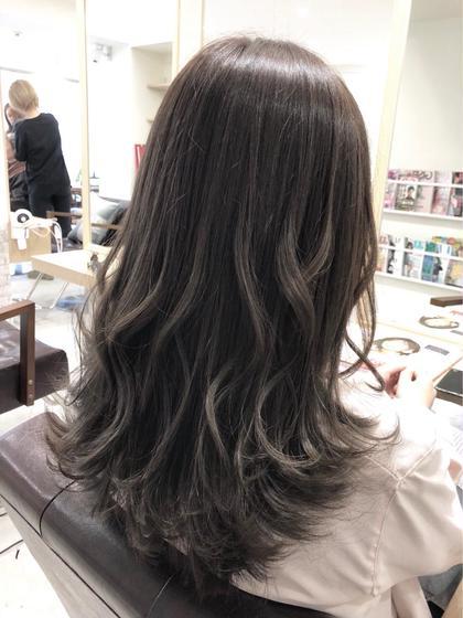 CIEL所属の大倉桃花のヘアカタログ
