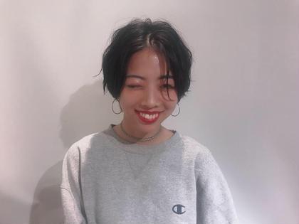 ショートスタイル✂︎ 黒髪でも絶対可愛いスタイル❤️ As hair所属・砂走真希のスタイル