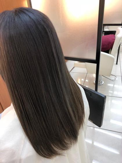 (6月限定)❣️★お気軽に❗️ダメージ80%カット‼️うるツヤ髪イルミナカラー+プレミアムトリートメント✨