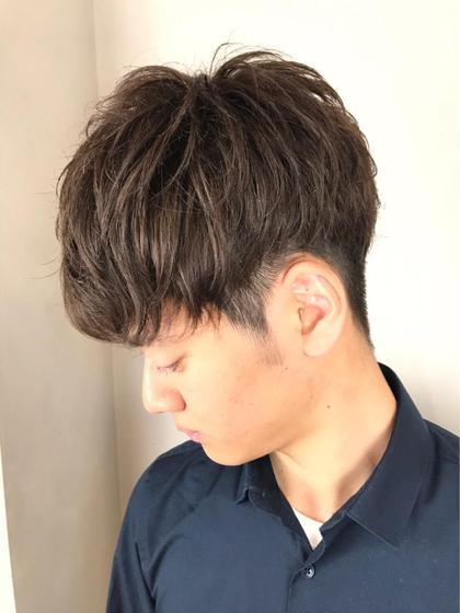 【メンズ】 似合わせデザインCUT+シャンプー ¥3600