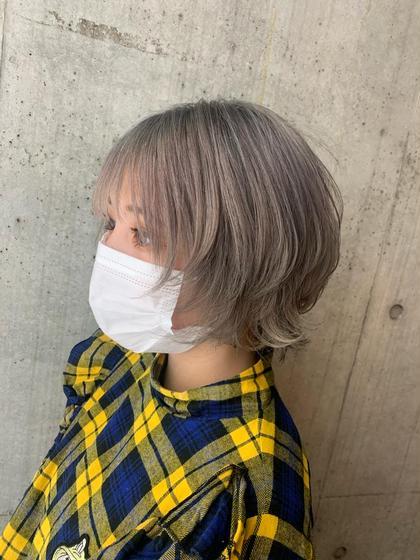 一日1名限定メニュー!!🌈カット+アミノ酸コラーゲントリートメント🌈