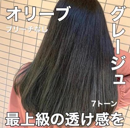 【話題の髪質改善プレミアムトリートメントプラン❤️】透明感カラー➕炭酸スパ➕極上髪質改善トリートメント❣️