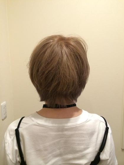 全頭2回ブリーチをして、ゴールドベージュを入れました!! Hair Salon Cocoa所属・KyoElyseのスタイル