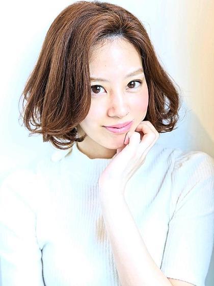 【業界話題の艶髪】カット+極潤オーガニックカラー+選べる極上SPA+潤Tr\8280