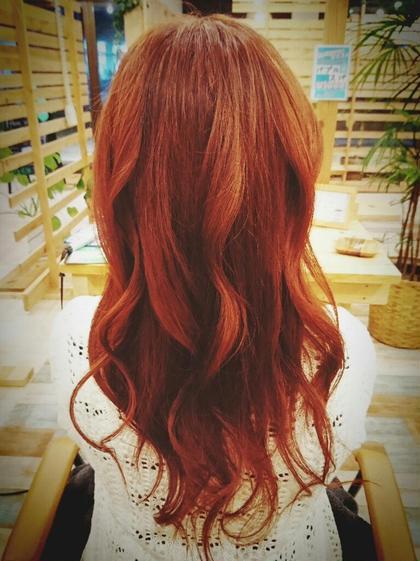 レッドバイオレットカラー♡ Hair garden Rold所属・井上野乃花のスタイル