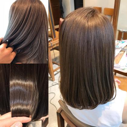 ❤️新規様限定❤️前髪カット・アディクシーorイルミナカラー・最高級TOKIOトキオトリートメント&炭酸シャンプー