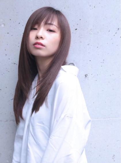 ♡クセ伸ばし、サラサラストレート♡ Ash 渋谷所属・石川百有のスタイル