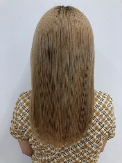 ダブルカラー・髪質改善トリートメント❤︎