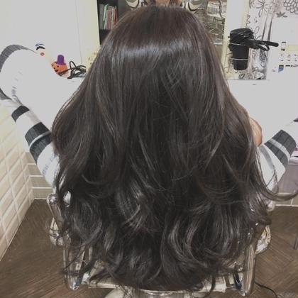 【✨3stepトリートメントで手触り抜群イルミナカラー✨】前髪カット付き