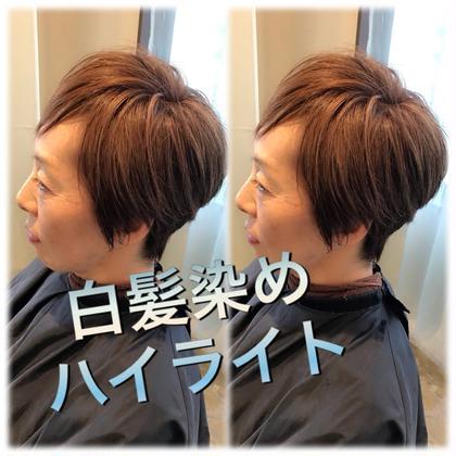 ご新規さまのみ♡選べる白髪染め&トリートメント♡