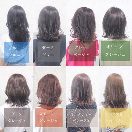 ❤️人気No.2❤️【6月限定】✨透明感ツヤヘアカラー.艶髪トリートメント✨