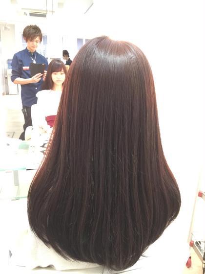 カット、カラー、トリートメントで ロングでもサラサラで手触りがいい髪に仕上げます!^o^ Kusyu...所属・渡部成希のスタイル