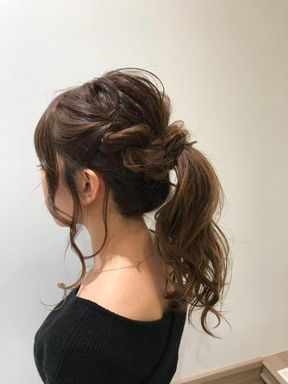 中原南竹のロングのヘアスタイル