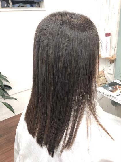 【ダメージ、治します🚑】毛髪復元カラー+最高級トリートメント