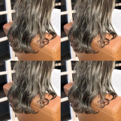 木村直貴のロングのヘアスタイル