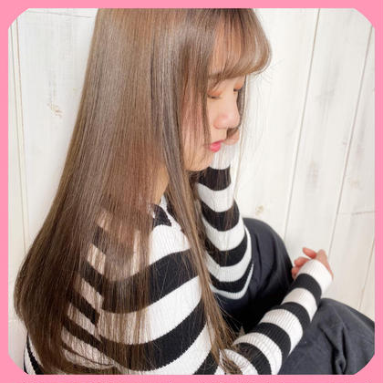 【✂︎】骨格似合わせ小顔cut +髪質改善グロスアップトリートメント