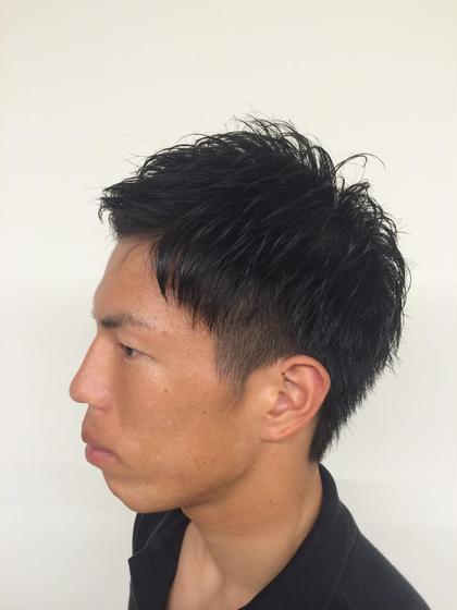 barber shop tete所属・内藤卓哉のスタイル
