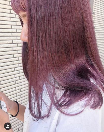 🌸色味重視のブリーチなしダブルカラー🌸【ダブルカラー】+【髪質改善トリートメント】🍾最高の色味と最高の艶感を🍾