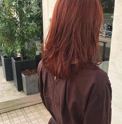 カラー ロング orange beige🍊