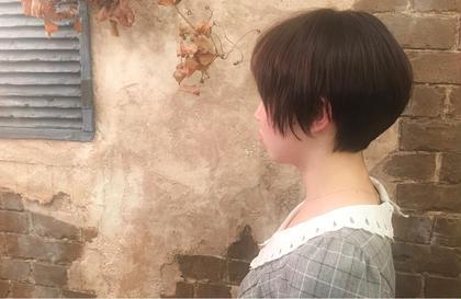 タイトなレイヤーショート magiy hair所属・nico。のスタイル