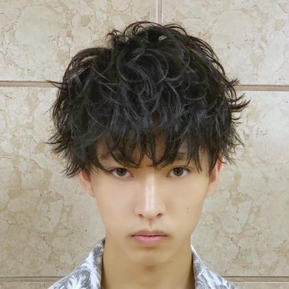 💸【 Men's🔰初回の方限定】メンズカット & パーマ & シャンプー & セット