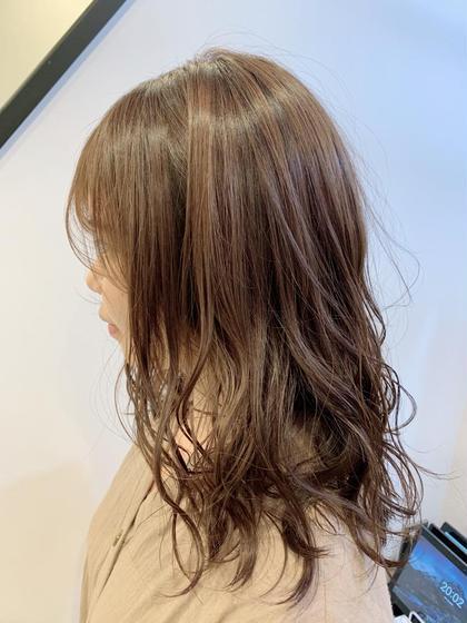 ❣️シアベージュ❣️ 柔らかいカラーが得意です💚 GAFF表参道本店所属・kiccaきっかのスタイル