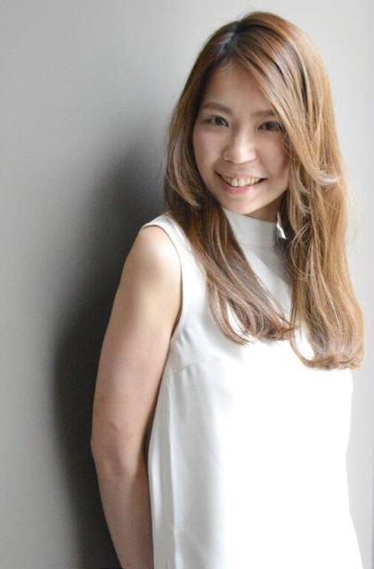 ナチュラルロング vifreve所属・安田かおりのスタイル