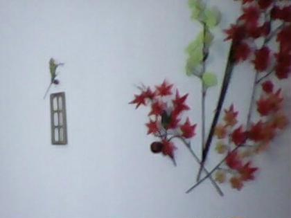 まつげエクステ部屋を秋にしましたぁー。癒されるぅ。秋は過ごしやすいですね!。オシャレ楽しめる時期です。重ね着や、メイク、小物秋にするにはまず目元からなーんて。 Brilliant eyes所属・小島サラのフォト