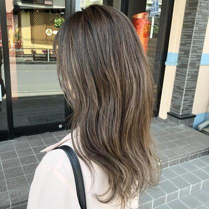 「1日2名限定✨」 立体感とツヤ感で美髪⭐︎透明感カラー+ハイライト+2ステップトリートメント