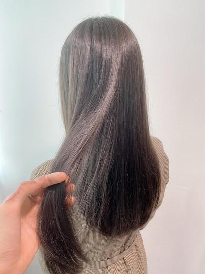 🦋1番人気メニュー🦋透明感のあるツヤカラー+今話題の髪質改善トリートメント‼️