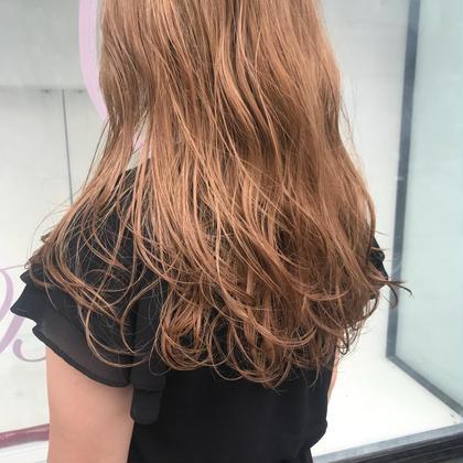 カラー ロング blond hair