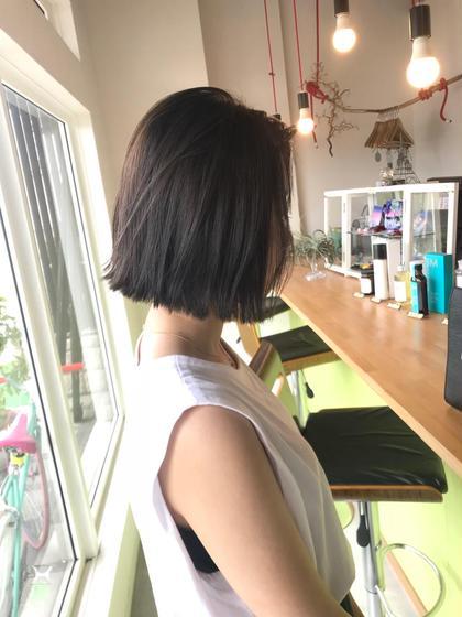 矢野まりあのショートのヘアスタイル