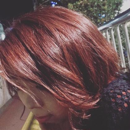 秋 外国の女の子みたいな赤毛になりたかった女の子 Cherie所属・まつだあやかのスタイル