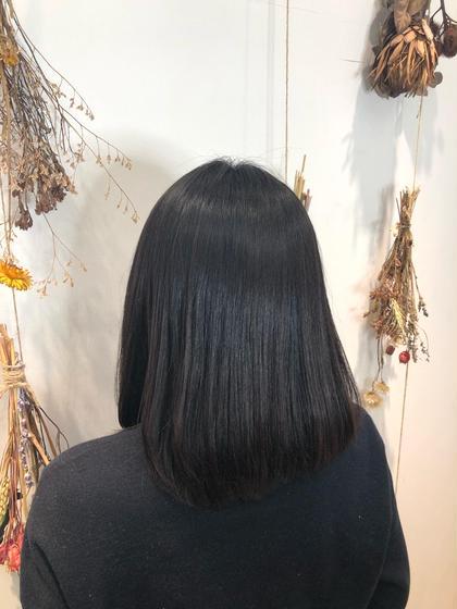 🌈6月限定🌈大人気の縮毛矯正⭐️癖を収めたい方⭐️うるつや縮毛矯正+シルクトリートメント
