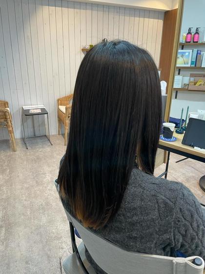 カット+髪質改善チューニング