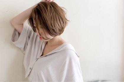 【頭皮スッキリ】外国人風カラー+炭酸スパ