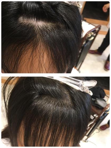 髪質改善縮毛矯正!前髪が割れやすい方必見!ノンアイロン前髪矯正!従来の縮毛矯正だと矯正独特のピンッと感がでますがノンアイロンなら自然な仕上がりを実現! Hair Design juliet(ヘアデザイン ジュリエ)所属・山尾奈津美のスタイル