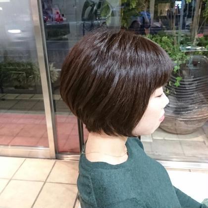 軽めグラデーションカット SALON68所属・渡邉彩香のスタイル