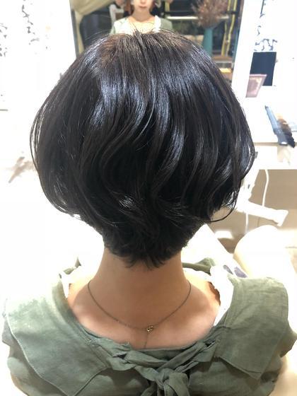 👩🏻🦰平日・日曜限定☝🏻カット(ショートボブ〜ボブ)&カラー