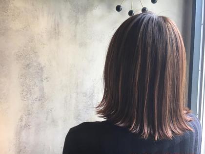 ハイライト 横山夏海のヘアカラーカタログ