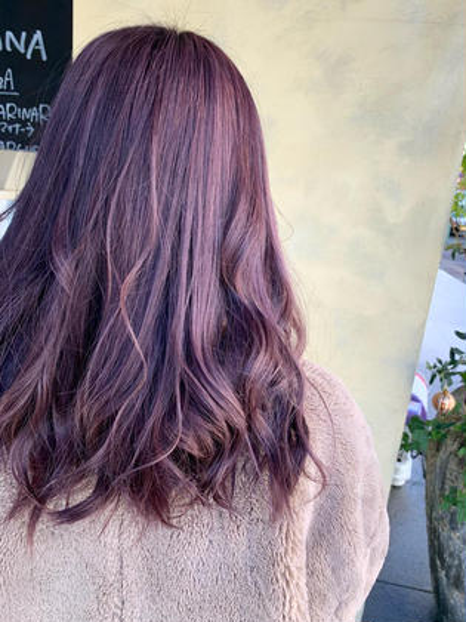 ケアしながら可愛い髪色に🦋【ケアブリーチ+カラー+トリートメント】