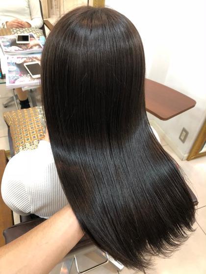 新規 前髪カット+プラチナシステムトリートメント+炭酸泉⭐︎☆☆